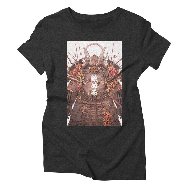 Pacify Women's Triblend T-Shirt by Chun Lo's Artist Shop