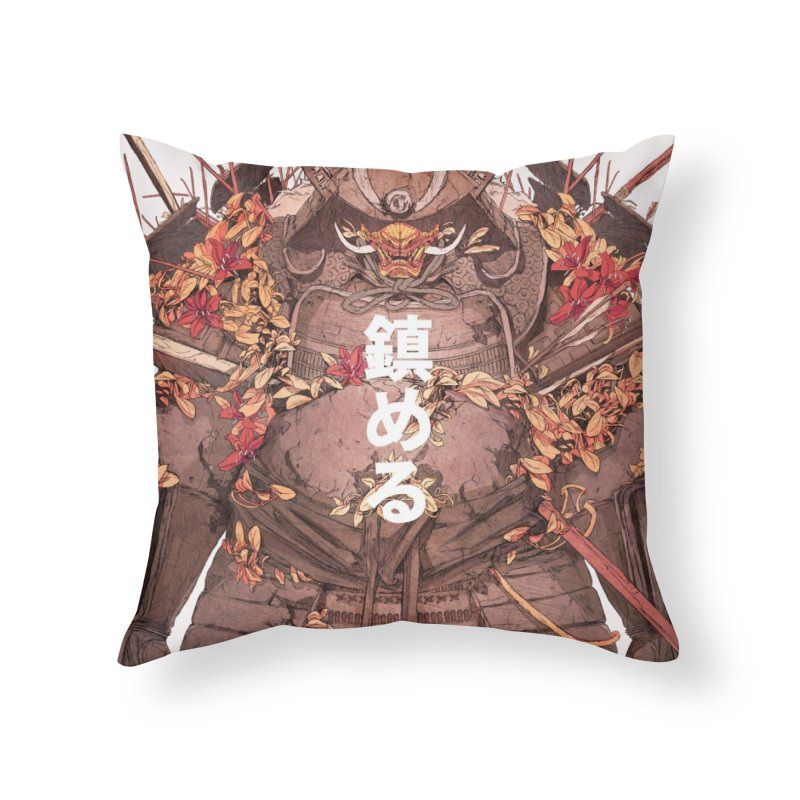 Pacify Home Throw Pillow by Chun Lo's Artist Shop