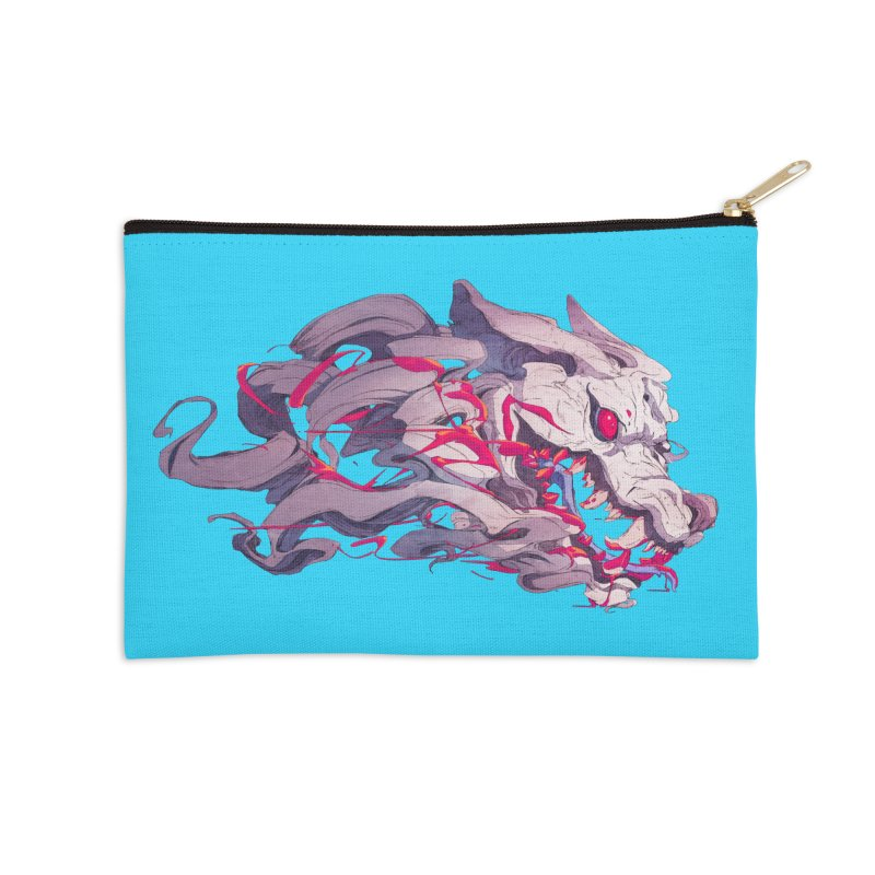 The Dog Accessories Zip Pouch by Chun Lo's Artist Shop