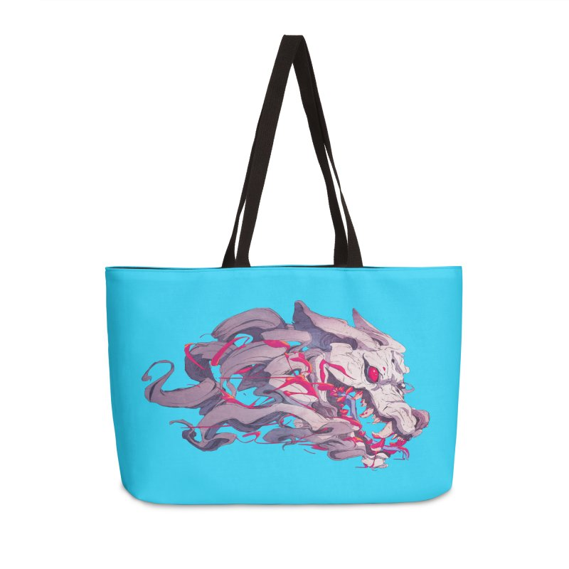 The Dog Accessories Weekender Bag Bag by Chun Lo's Artist Shop