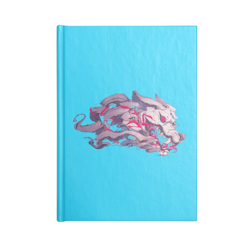 The Dog Accessories Blank Journal Notebook by Chun Lo's Artist Shop