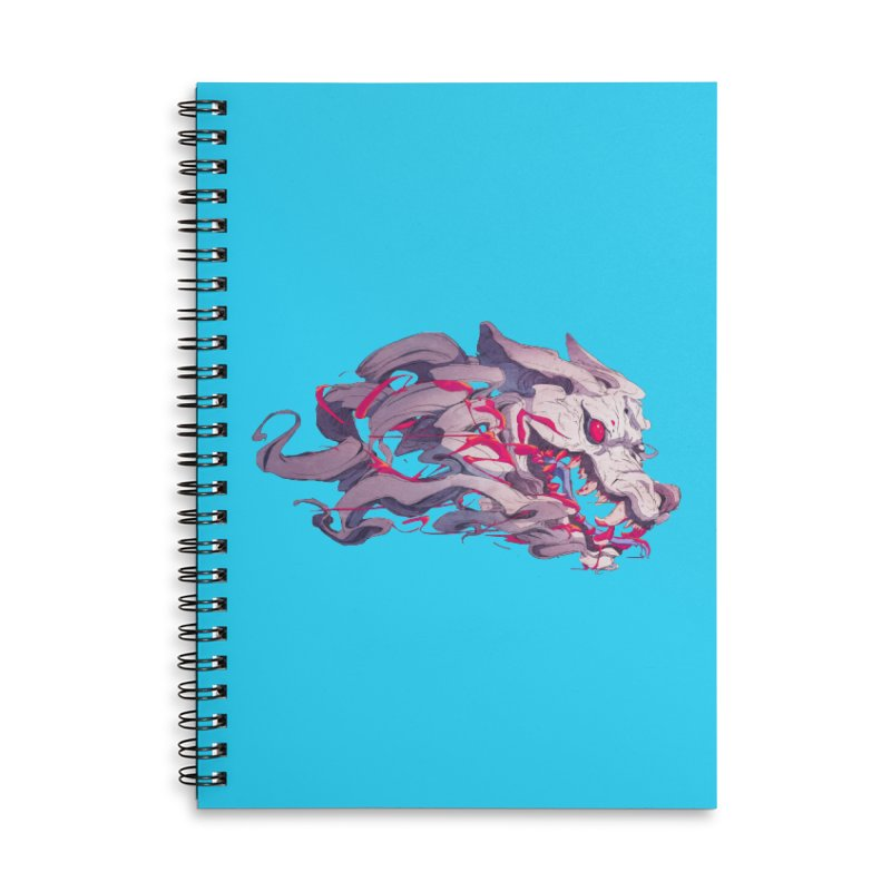 The Dog Accessories Lined Spiral Notebook by Chun Lo's Artist Shop