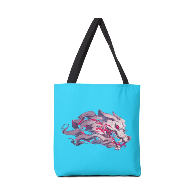 The Dog Accessories Tote Bag Bag by Chun Lo's Artist Shop