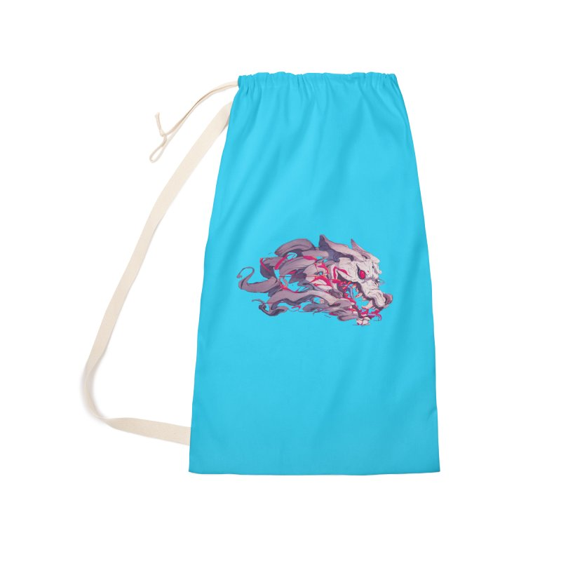 The Dog Accessories Laundry Bag Bag by Chun Lo's Artist Shop