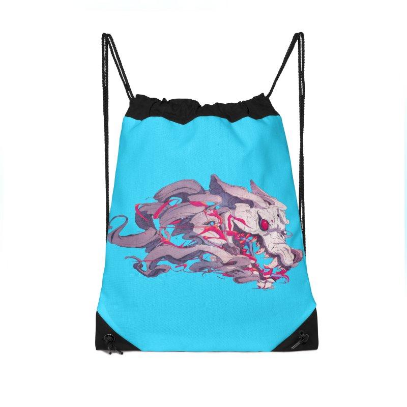 The Dog Accessories Drawstring Bag Bag by Chun Lo's Artist Shop