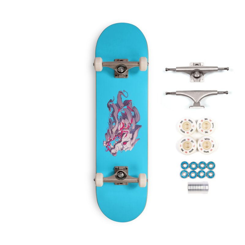 The Dog Accessories Complete - Premium Skateboard by Chun Lo's Artist Shop