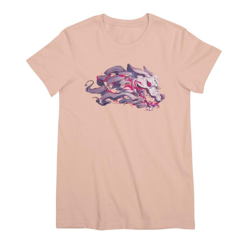 The Dog Women's Premium T-Shirt by Chun Lo's Artist Shop