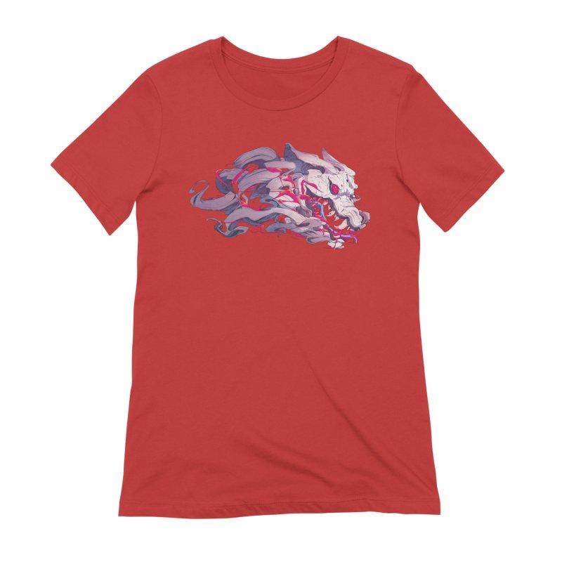 The Dog Women's Extra Soft T-Shirt by Chun Lo's Artist Shop
