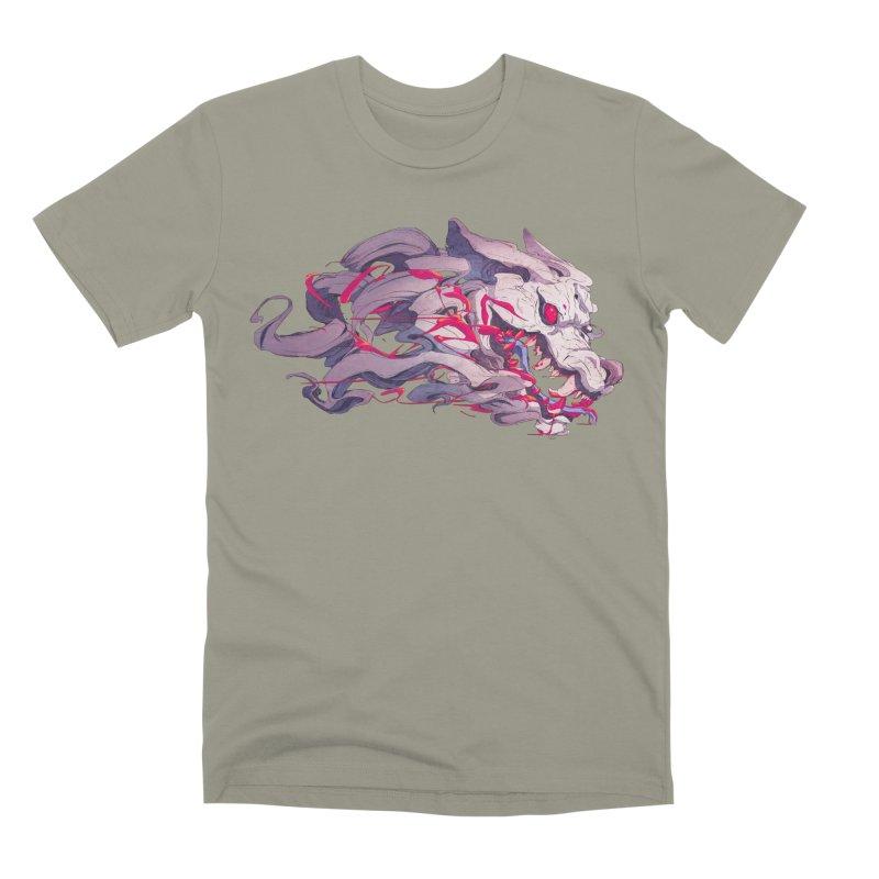 The Dog Men's Premium T-Shirt by Chun Lo's Artist Shop