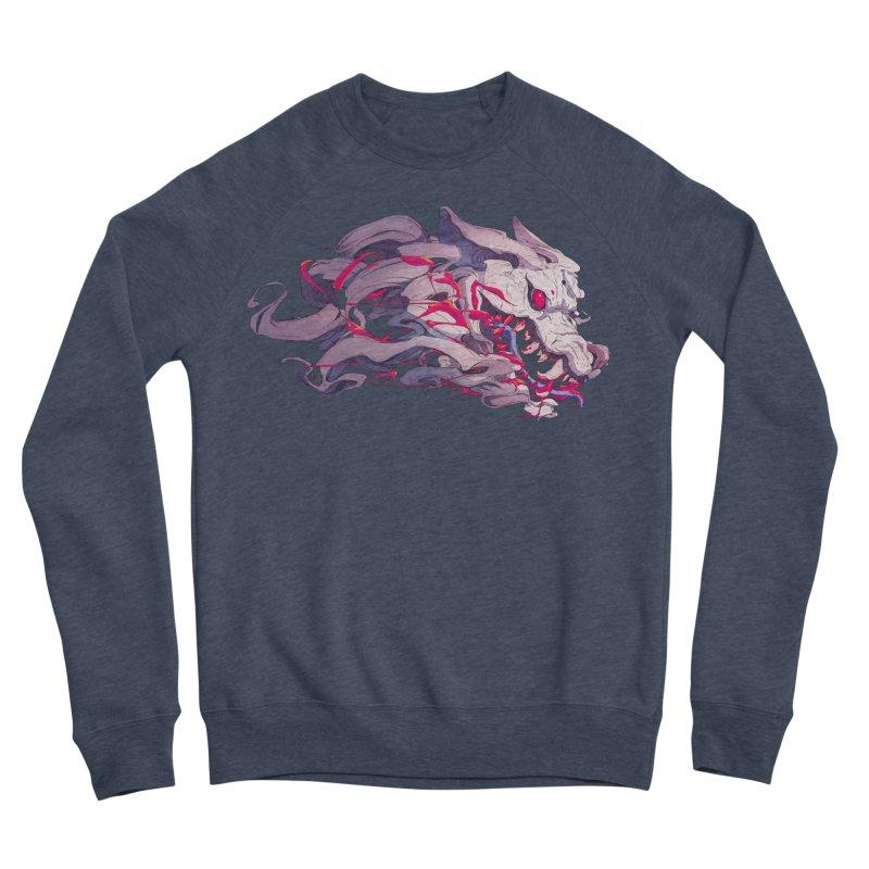 The Dog Men's Sponge Fleece Sweatshirt by Chun Lo's Artist Shop