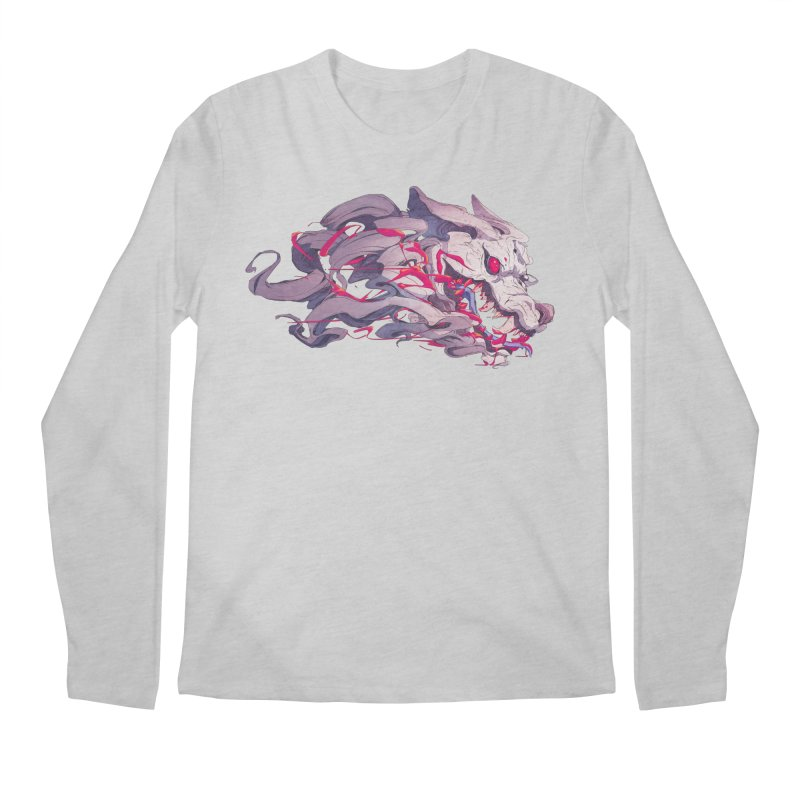 The Dog Men's Regular Longsleeve T-Shirt by Chun Lo's Artist Shop