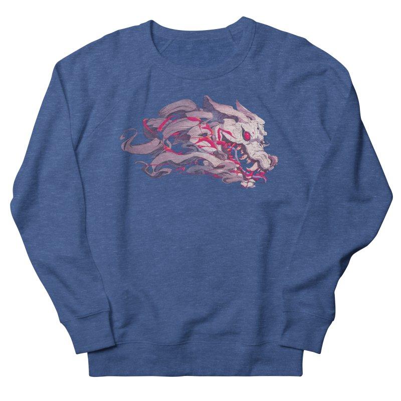 The Dog Women's French Terry Sweatshirt by Chun Lo's Artist Shop