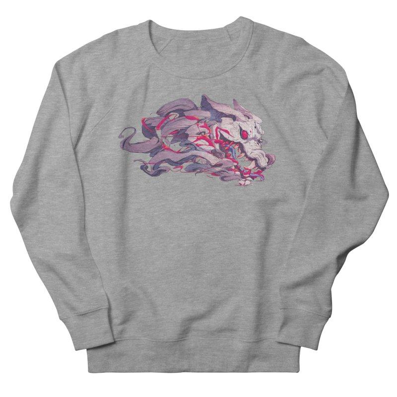 The Dog Men's French Terry Sweatshirt by Chun Lo's Artist Shop