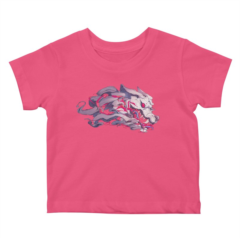 The Dog Kids Baby T-Shirt by Chun Lo's Artist Shop