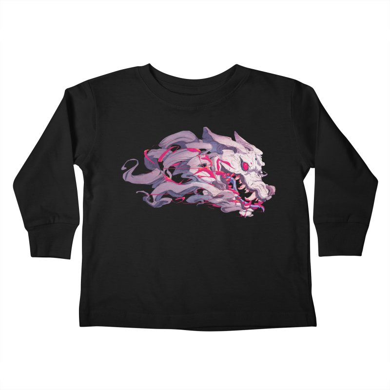 The Dog Kids Toddler Longsleeve T-Shirt by Chun Lo's Artist Shop