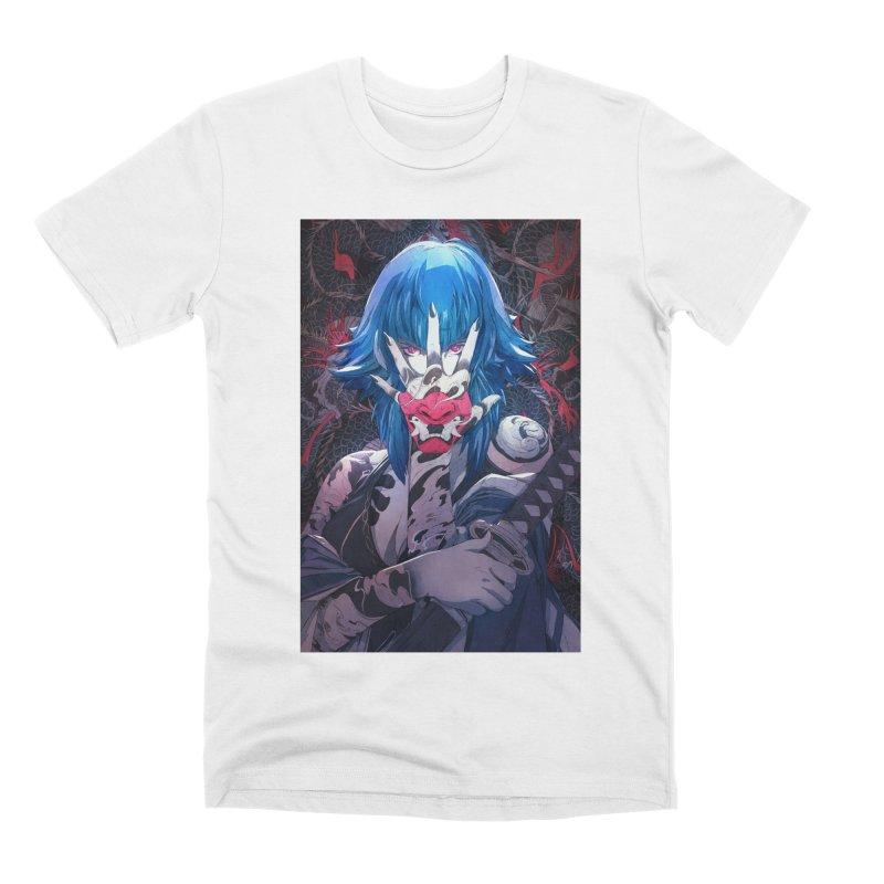 The Demon Men's Premium T-Shirt by Chun Lo's Artist Shop