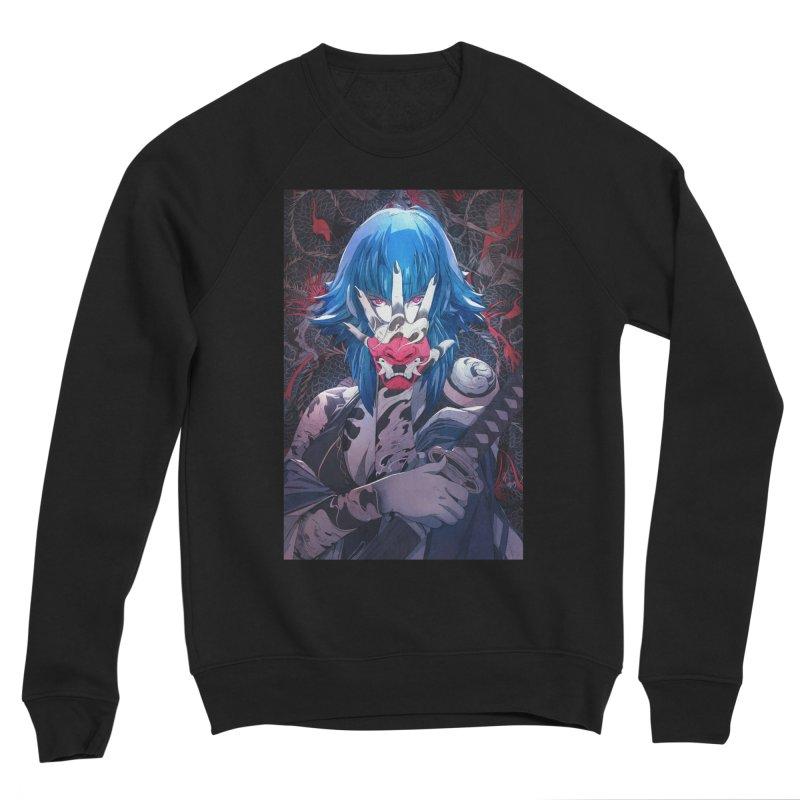 The Demon Men's Sponge Fleece Sweatshirt by Chun Lo's Artist Shop