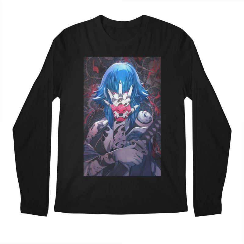 The Demon Men's Regular Longsleeve T-Shirt by Chun Lo's Artist Shop