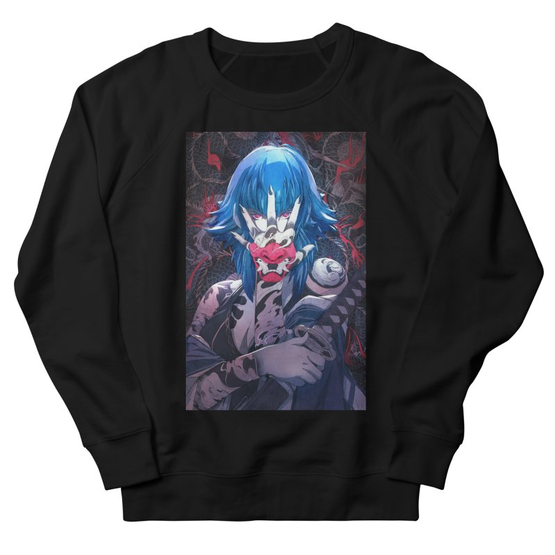 The Demon Women's French Terry Sweatshirt by Chun Lo's Artist Shop