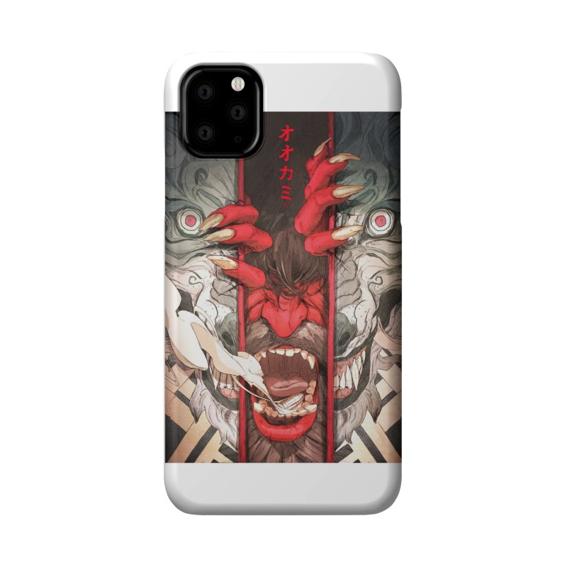 The Wolf Accessories Phone Case by Chun Lo's Artist Shop