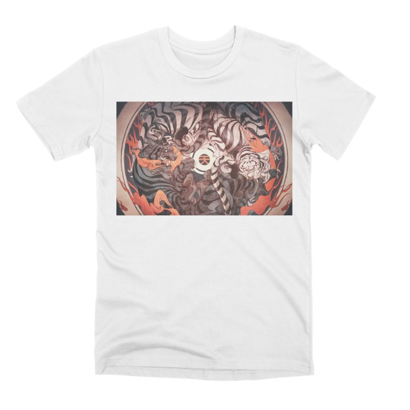 Strife Men's Premium T-Shirt by Chun Lo's Artist Shop