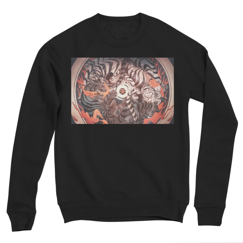 Strife Men's Sponge Fleece Sweatshirt by Chun Lo's Artist Shop
