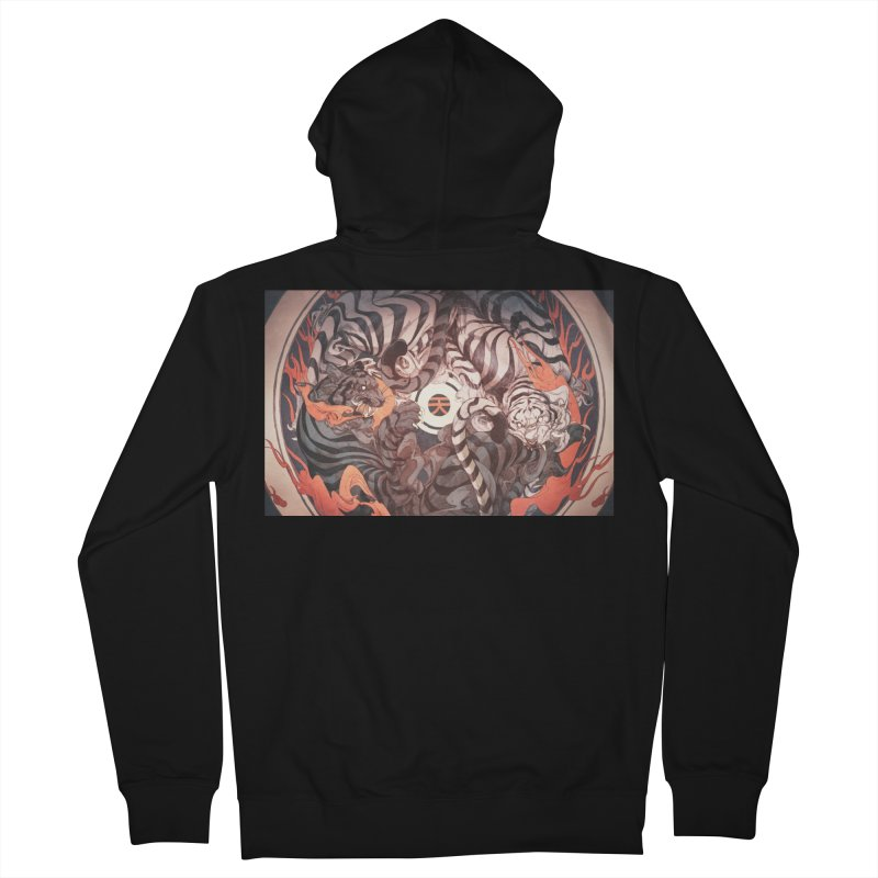 Strife Men's French Terry Zip-Up Hoody by Chun Lo's Artist Shop