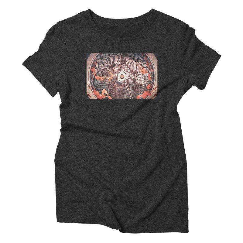 Strife Women's Triblend T-Shirt by Chun Lo's Artist Shop