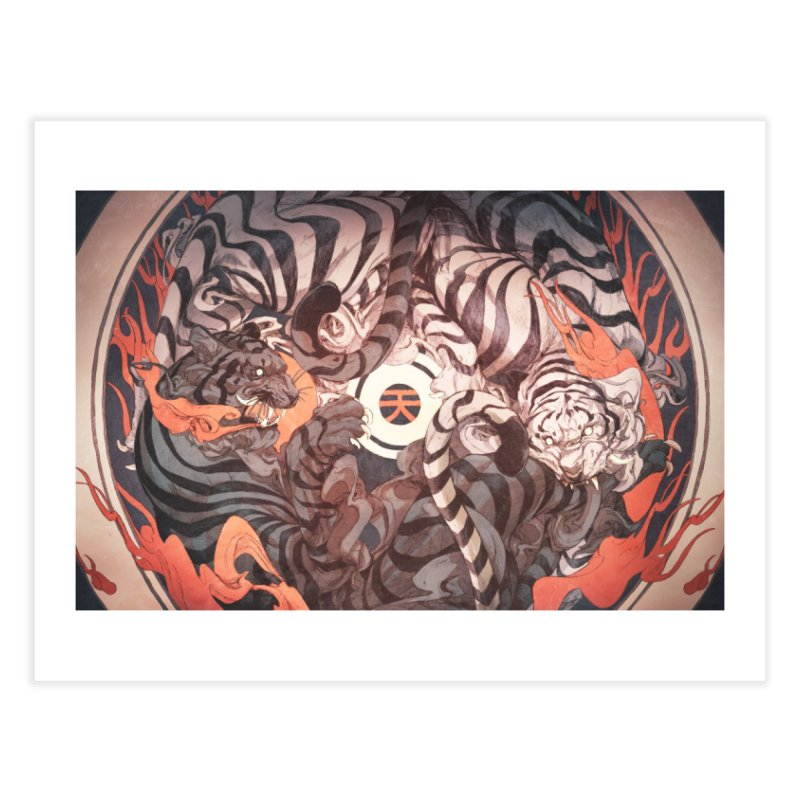 Strife Home Fine Art Print by Chun Lo's Artist Shop