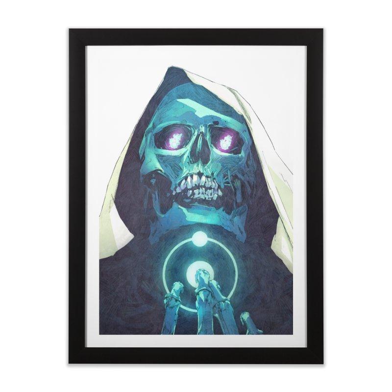 Death Home Framed Fine Art Print by Chun Lo's Artist Shop