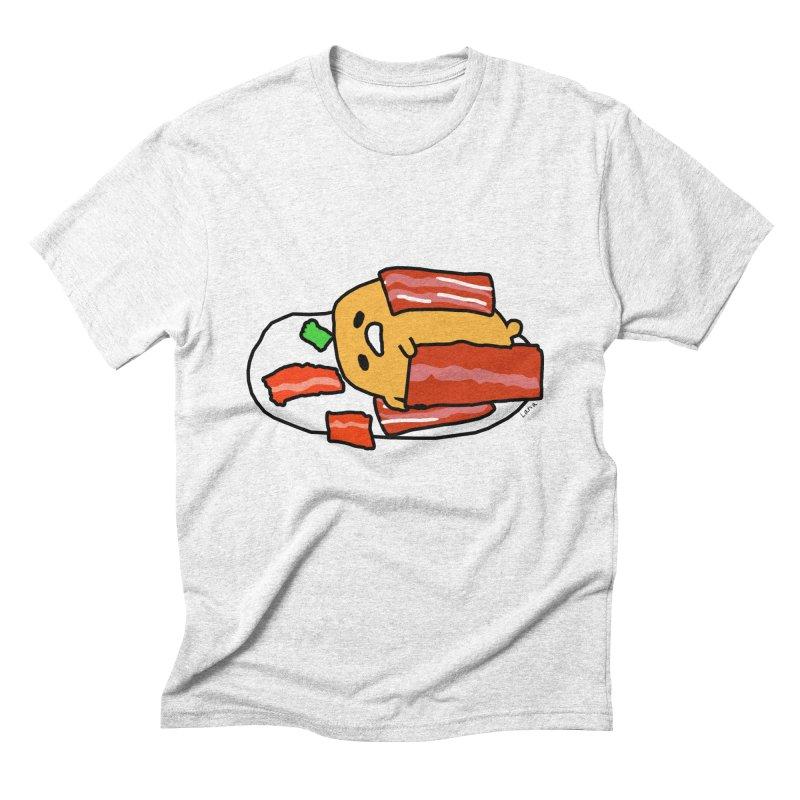 Lana's Lazy Egg Men's Triblend T-shirt by churro's Artist Shop