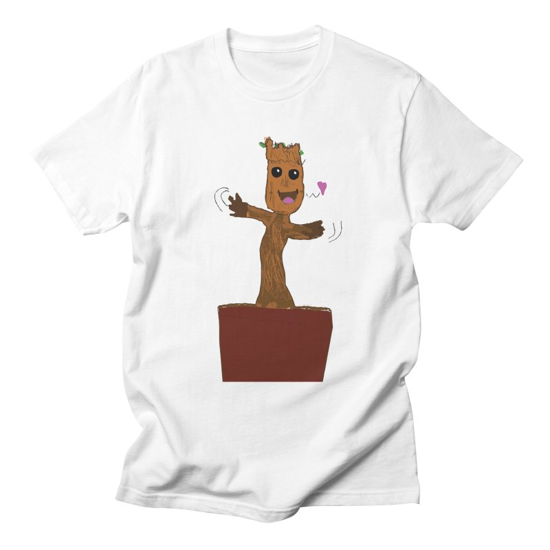 Potted Groot Men's T-shirt by churro's Artist Shop