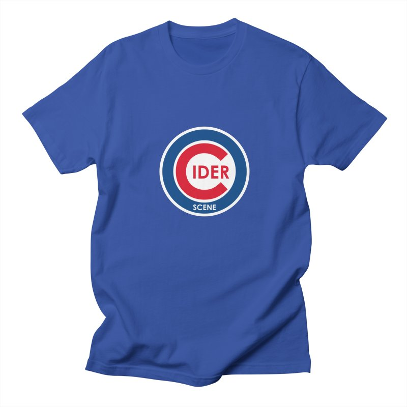 Cubs CiderScene Logo in Men's Regular T-Shirt Royal Blue by Ciderscene's Artist Shop