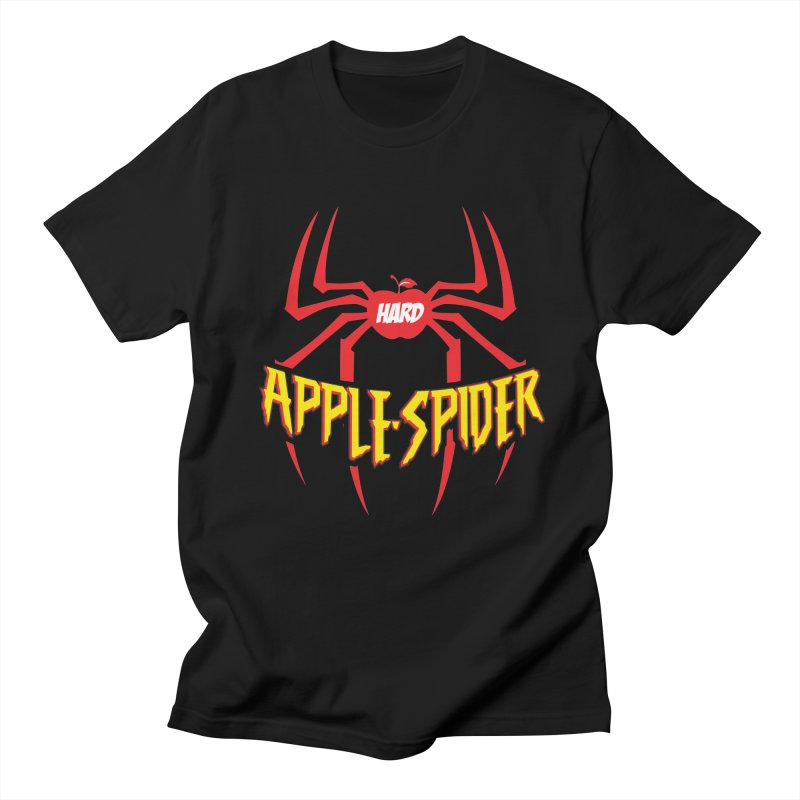 Hard Apple Spider  in Men's Regular T-Shirt Black by Ciderscene's Artist Shop