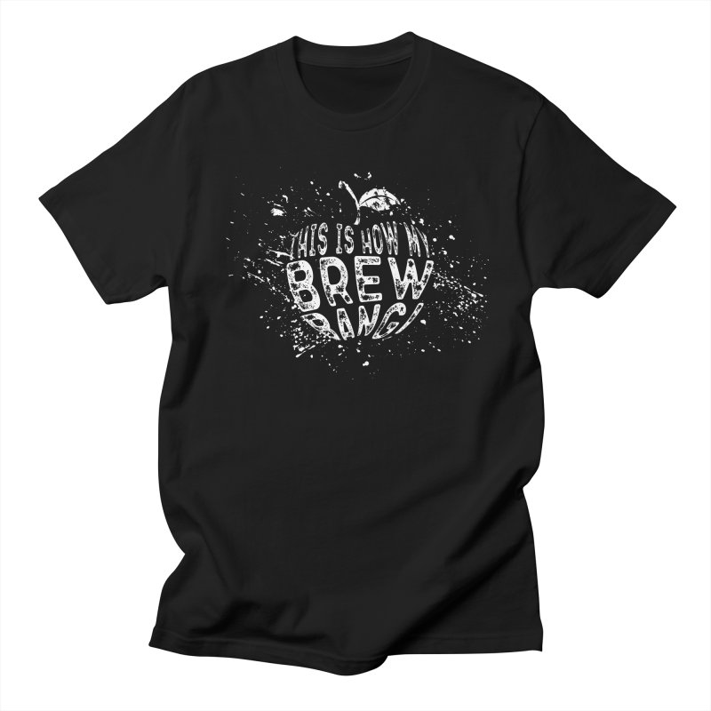 This Is How My Brew Bang Apple in Men's T-shirt Black by Ciderscene's Artist Shop