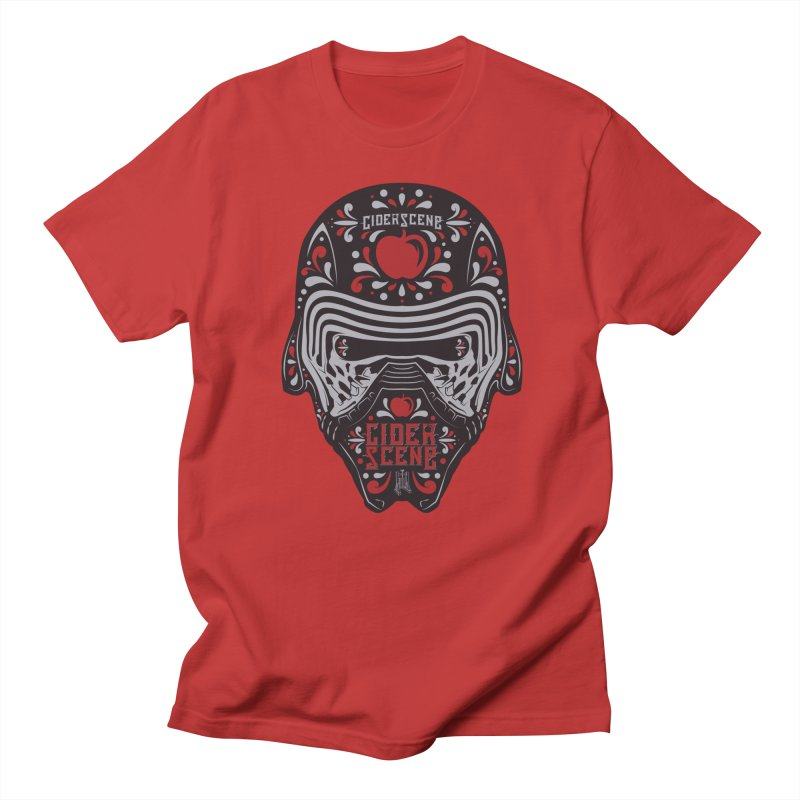 Dark Cide(r) in Men's Regular T-Shirt Red by Ciderscene's Artist Shop