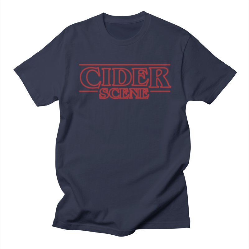 Upcide(r) Down in Men's T-Shirt Navy by Ciderscene's Artist Shop