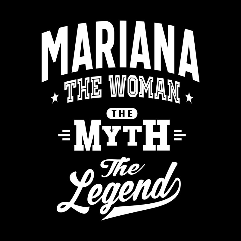 Mariana Personalized Name Birthday Gift Women's T-Shirt by Cido Lopez Shop
