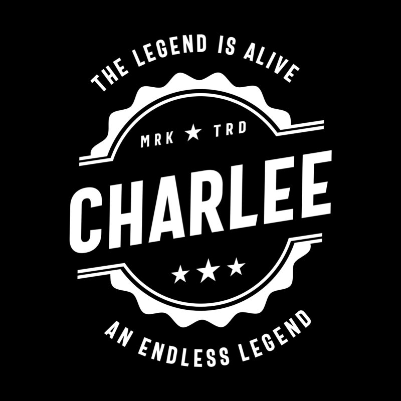 Charlee Personalized Name Birthday Gift Women's T-Shirt by Cido Lopez Shop