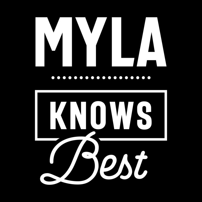 Myla Personalized Name Birthday Gift Women's T-Shirt by Cido Lopez Shop