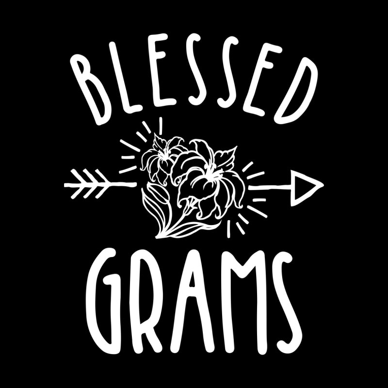 Blessed Grams Tee Grandma Gifts Women's T-Shirt by Cido Lopez Shop