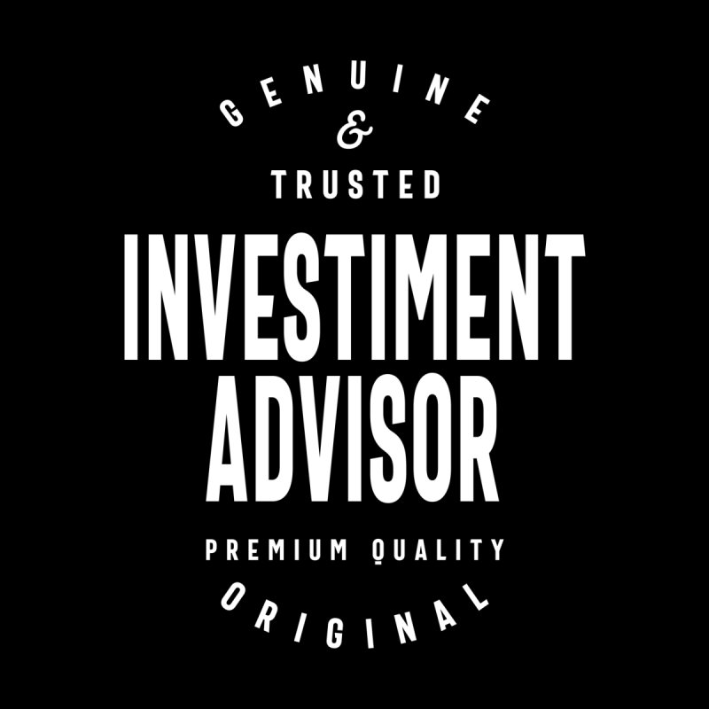 Investiment Advisor Gift Funny Job Title Profession Birthday Idea Women's Zip-Up Hoody by Cido Lopez Shop