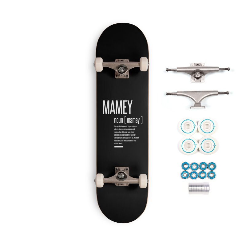 Womens Definition Mamey | Mothers Day Accessories Skateboard by Cido Lopez Shop