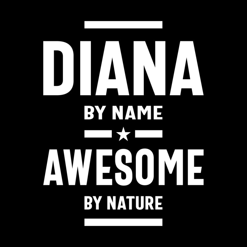 Diana Personalized Name Birthday Gift Women's T-Shirt by Cido Lopez Shop