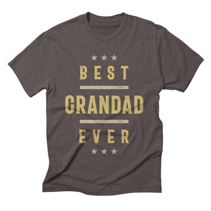 Mens Best Grandad Ever | Grandpa Gift Men's T-Shirt by Cido Lopez Shop