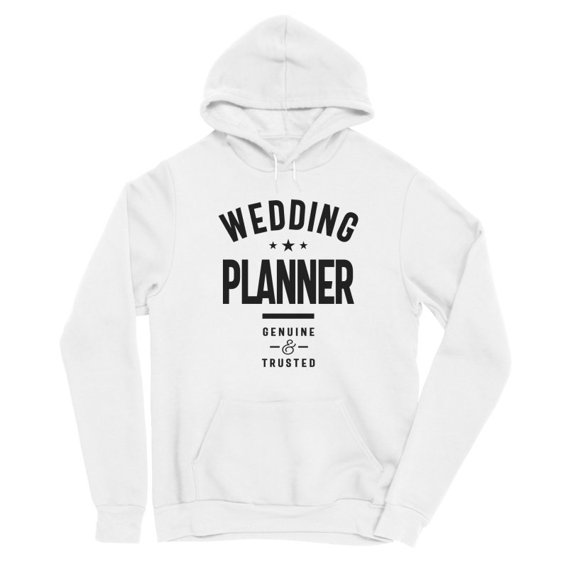 Wedding Planner Gift Funny Job Title Profession Birthday Idea Men's Pullover Hoody by Cido Lopez Shop