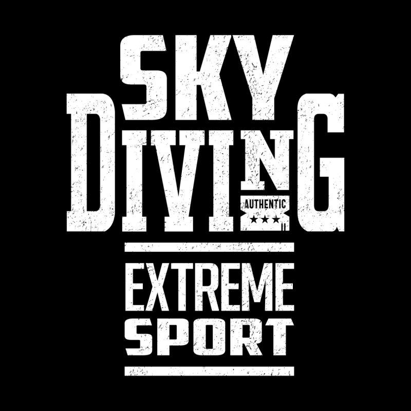 Sky Diving Extreme Sport Kids Longsleeve T-Shirt by Cido Lopez Shop
