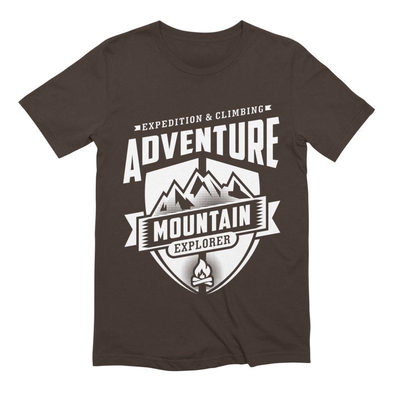 Adventure Expedition Extreme Sport Men's T-Shirt by Cido Lopez Shop