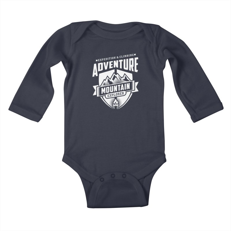 Adventure Expedition Extreme Sport Kids Baby Longsleeve Bodysuit by Cido Lopez Shop