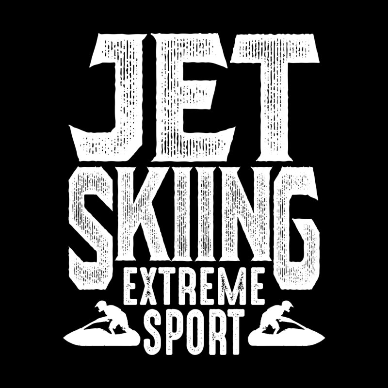 Jet Skiing Extreme Sport Women's T-Shirt by Cido Lopez Shop